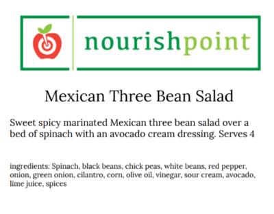 Mexican Three Bean Salad