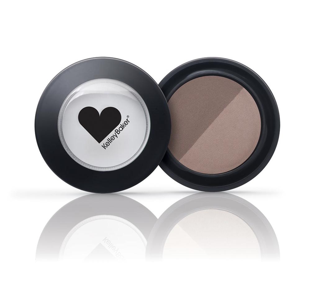 Brow Powder Duo-Brown/Dark Brown