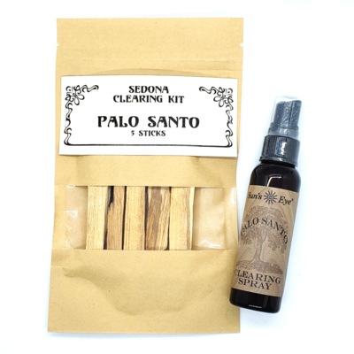 Small Palo Santo Smudge Set