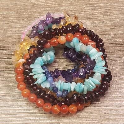 Chakra Balance Bracelet Set