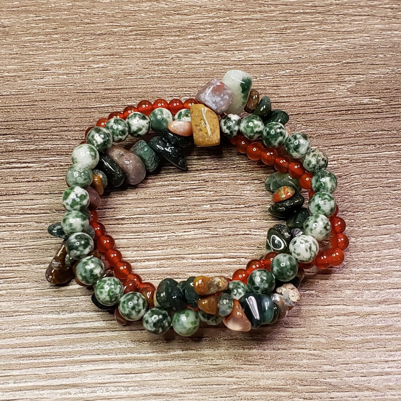 Earth Balance Bracelet Set