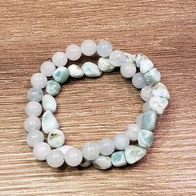 Ocean Goddess Bracelet Set