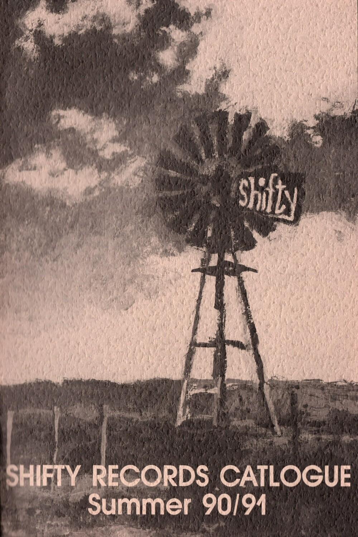 Original Shifty Records Catalogue 90/91