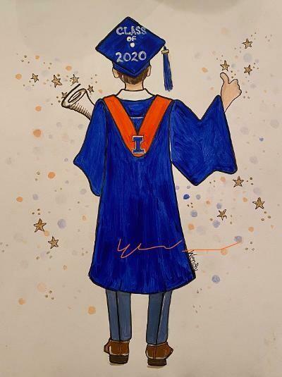 Graduate Framed Artwork