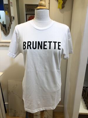 Brunette Short Sleeve T-Shirt