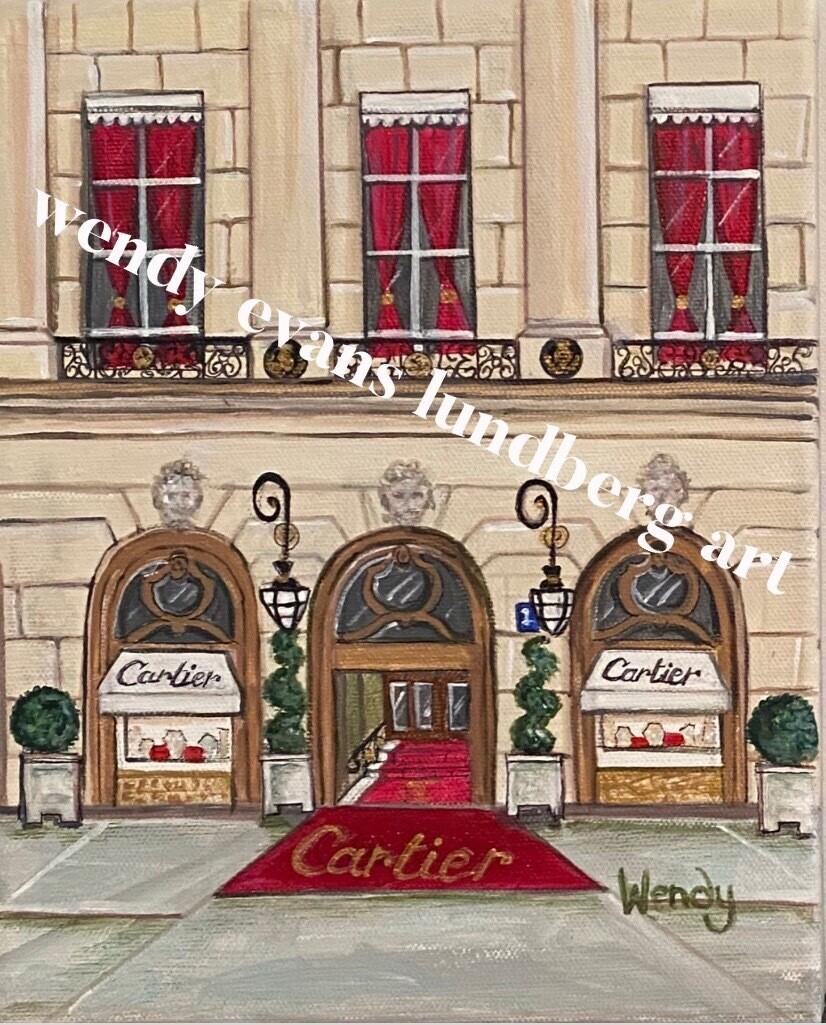 Cartier Paris Framed Print