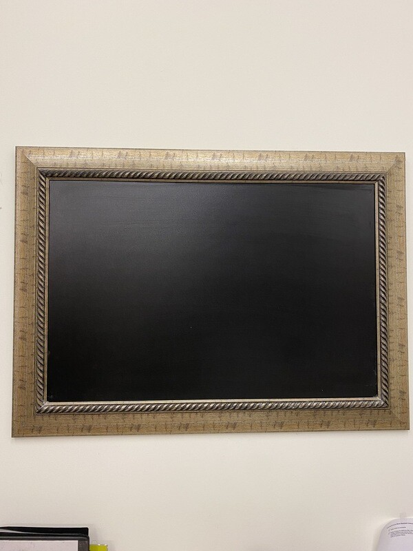 Framed Chalk Board