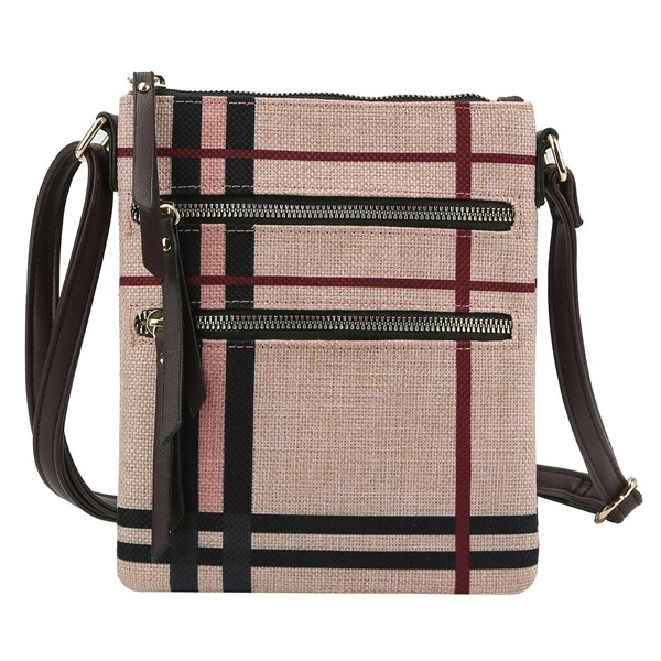 Brit Plaid Crossbody Bag