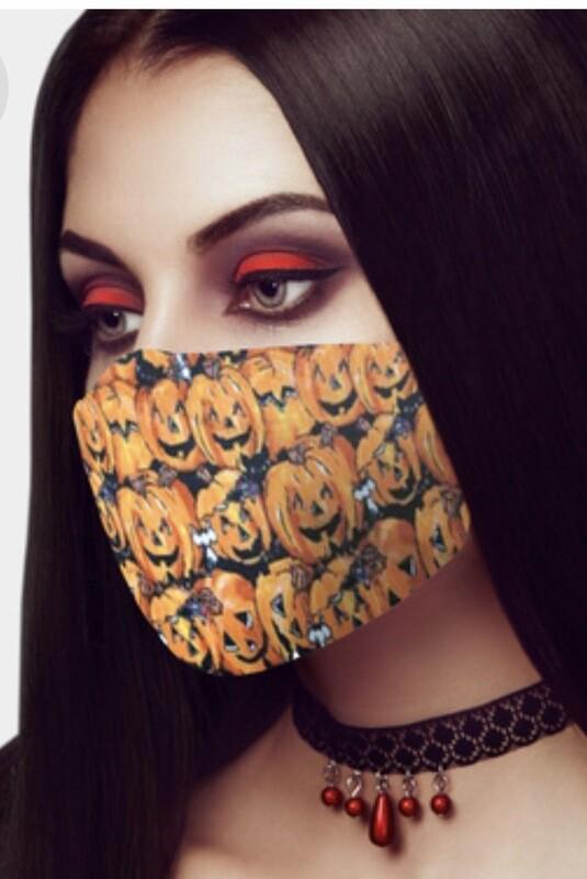Pumpkins Face Mask