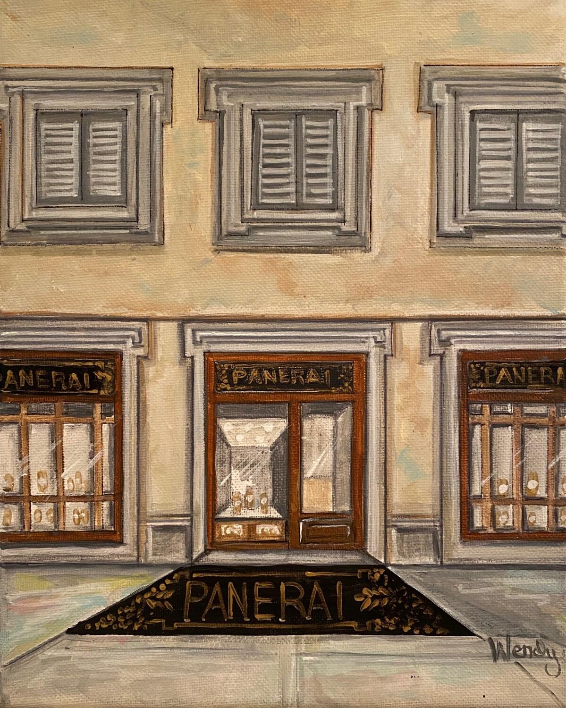 Panerai, Milan, Italy Store Front Print