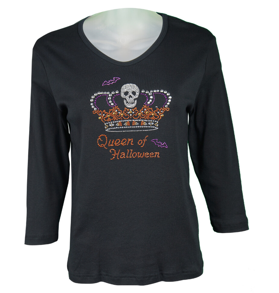 Queen Of Halloween T-Shirt by Cactus Bay