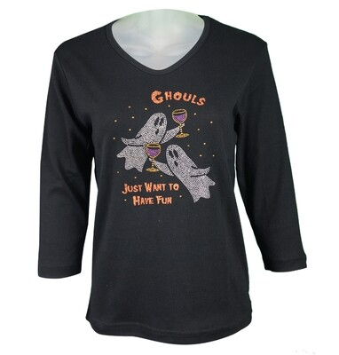 Ghouls Just Wanna Have Fun T-Shirt Cactus Bay