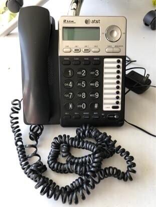 4 AT&T 2-Line Speaker Phones