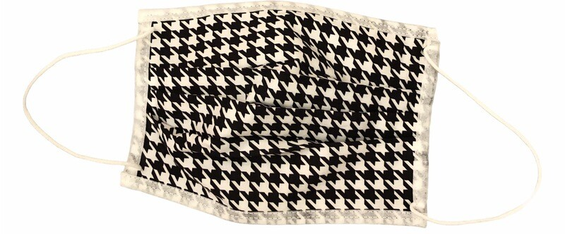 Houndstooth Adult Face Mask