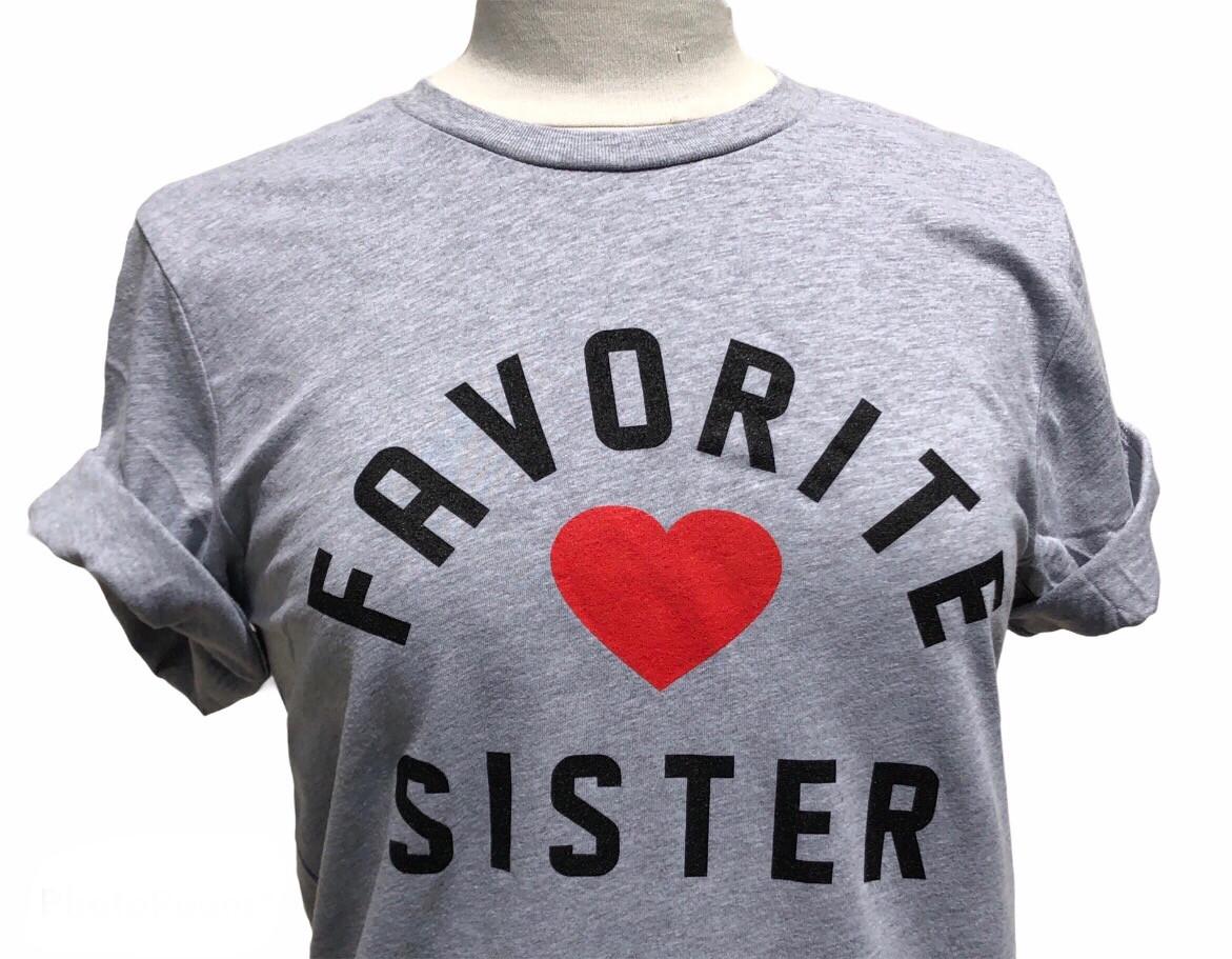 Favorite Sister T-Shirt