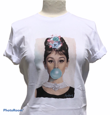 Audrey Bubble Gum T-Shirt