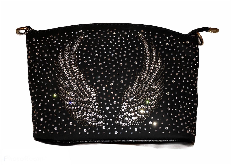 Crystal Angel Wings Handbag