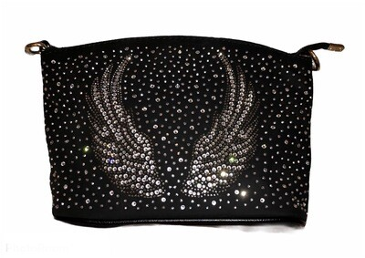 Crystal Angel Wings Handbag