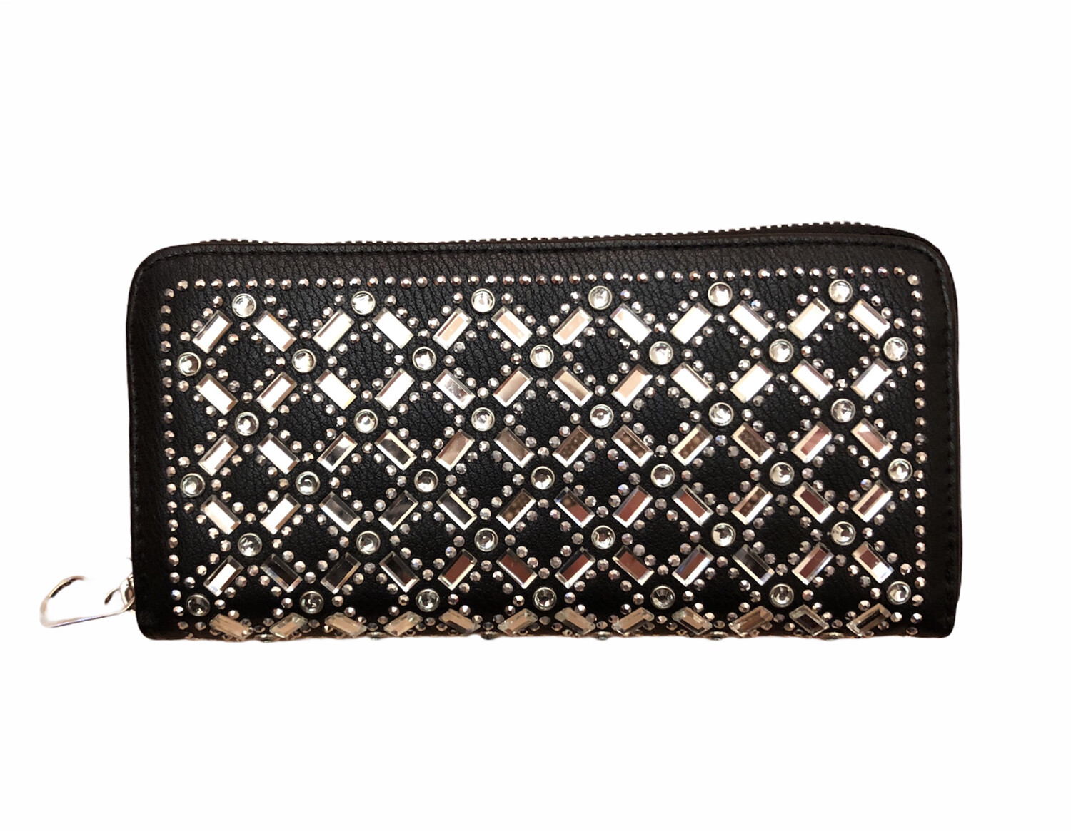 Crystal X & O's 3 Section Wallet