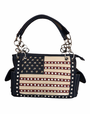 American Flag Medium Bag