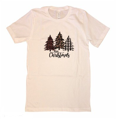 Leopard Christmas Trees T-shirt