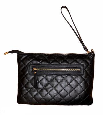 Chanel Style Wristlet /Shoulder Bag
