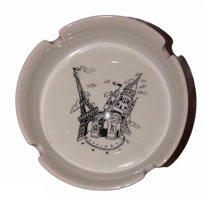 Destination Paris Ceramic Ash Tray
