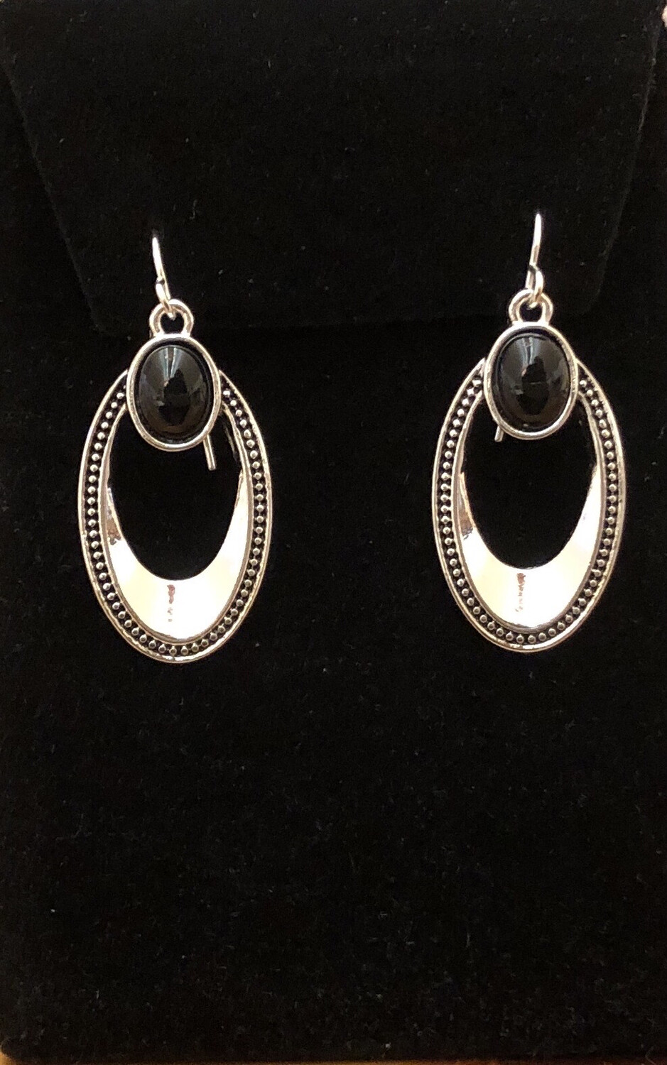 Oval Spectator Earrings
