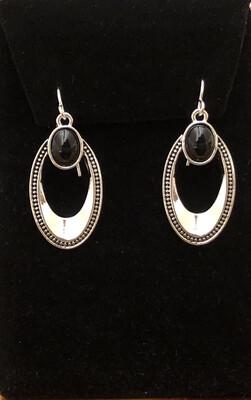 Oval Spectator Earrings