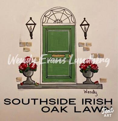 South Side Irish Your City/Neighborhood Framed Print