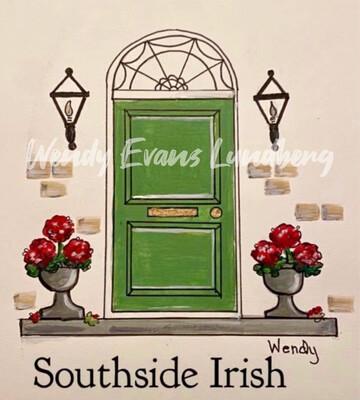 South Side Irish Framed Print