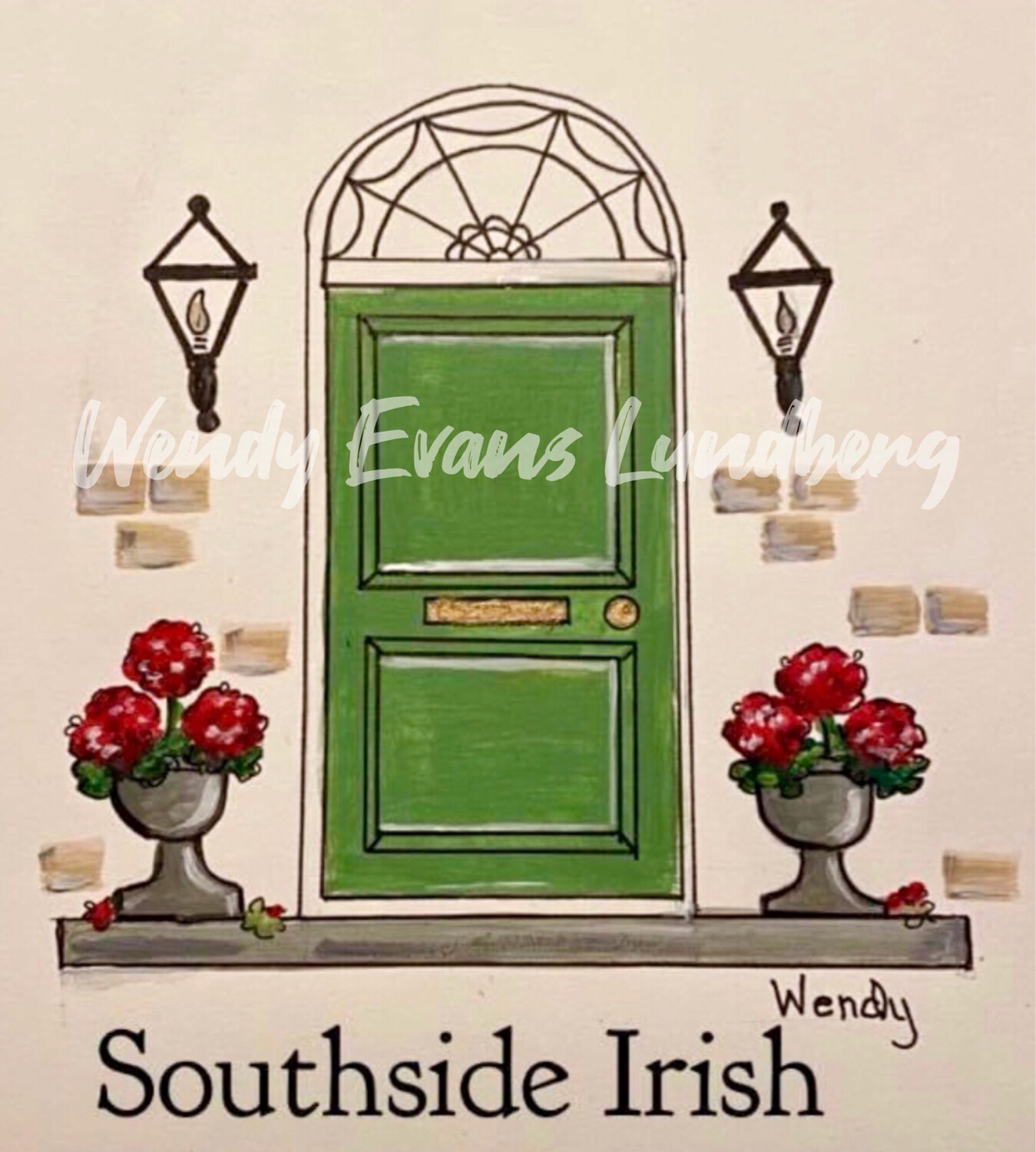 South Side Irish Print Plain or Personalized
