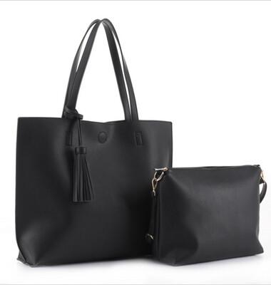 Tassel 2-Piece Bag Set