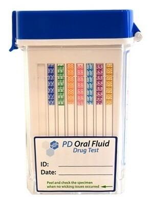 One-Step Oral-Fluid Drug Testing Swab