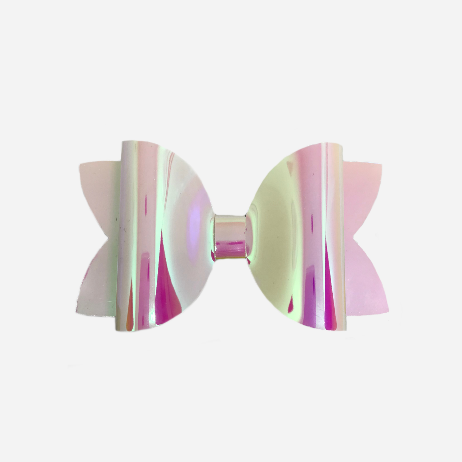 Pearl Yellow Holographic Bow