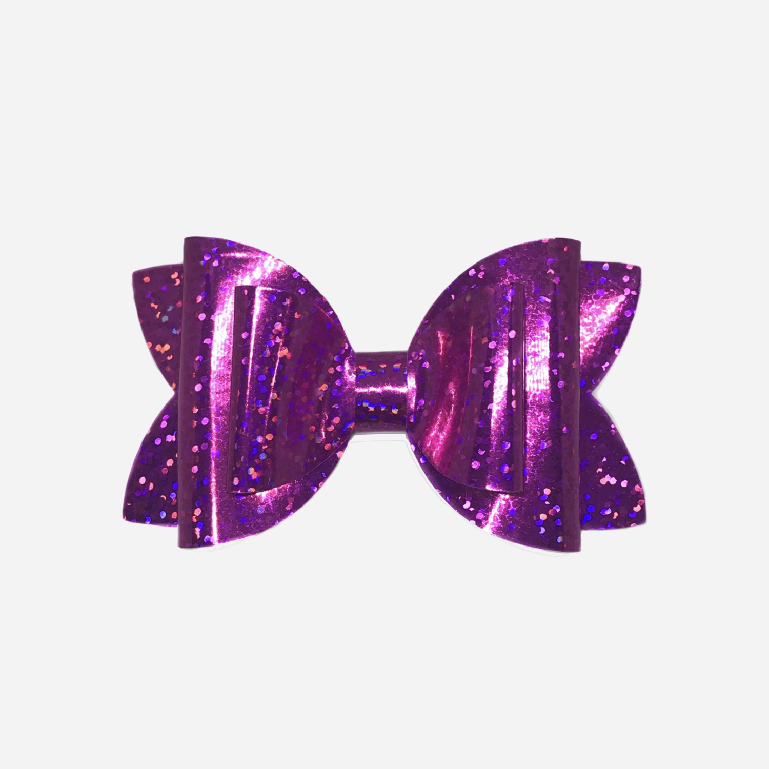 Pink Holographic Bow