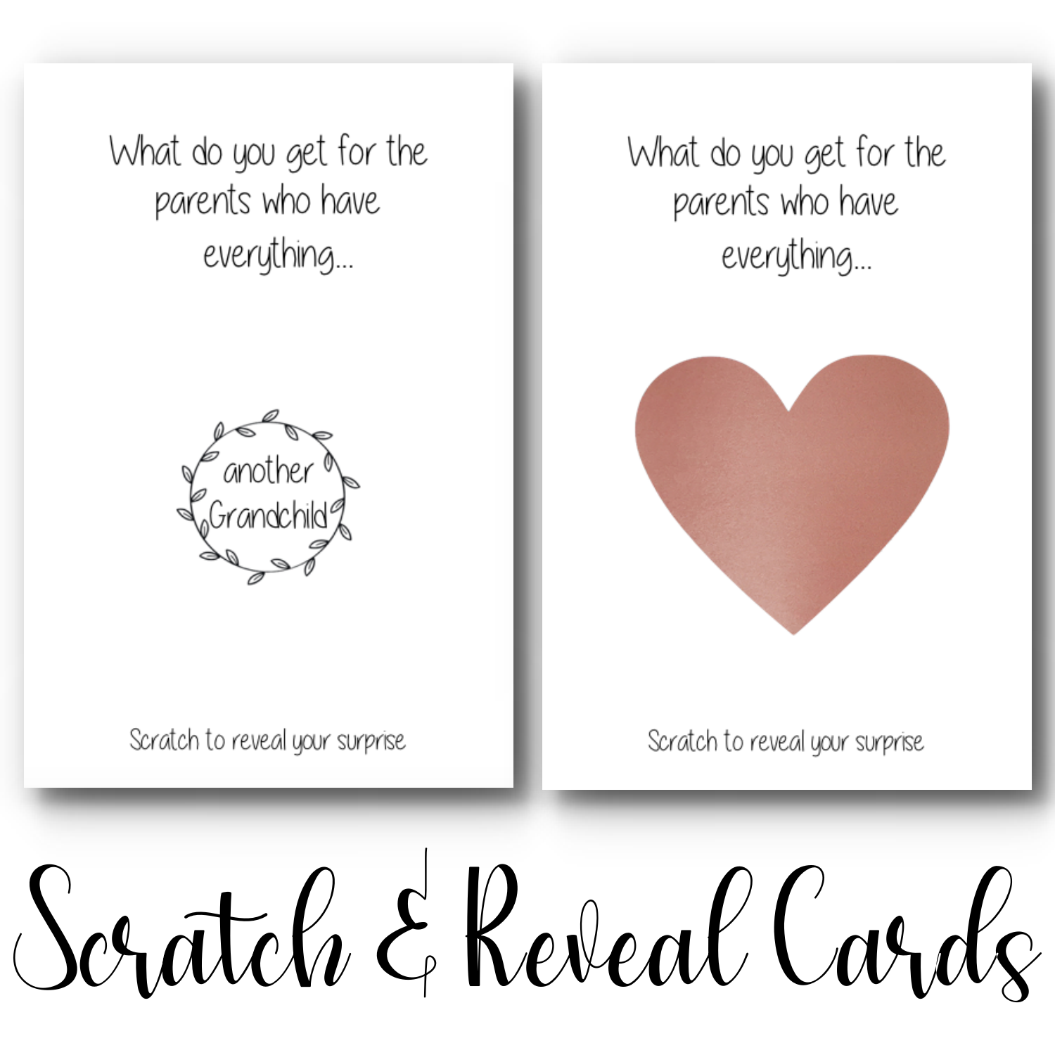 """Another Grandchild"" Scratch & Reveal Card"