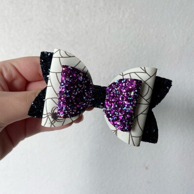 Glow in the Dark Halloween Bow