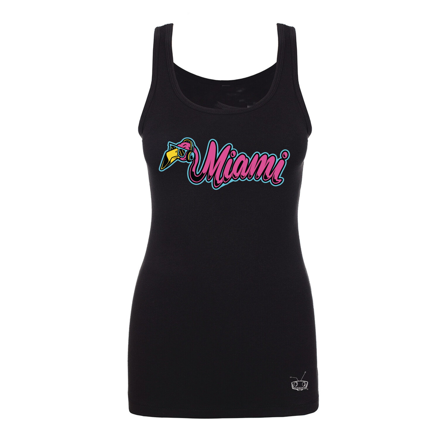 Flamingo Miami Ladies Tank