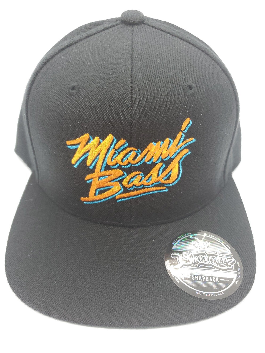 BLACK SNAP W/ MIAMI BASS IN DOLPHINS COLOR #2
