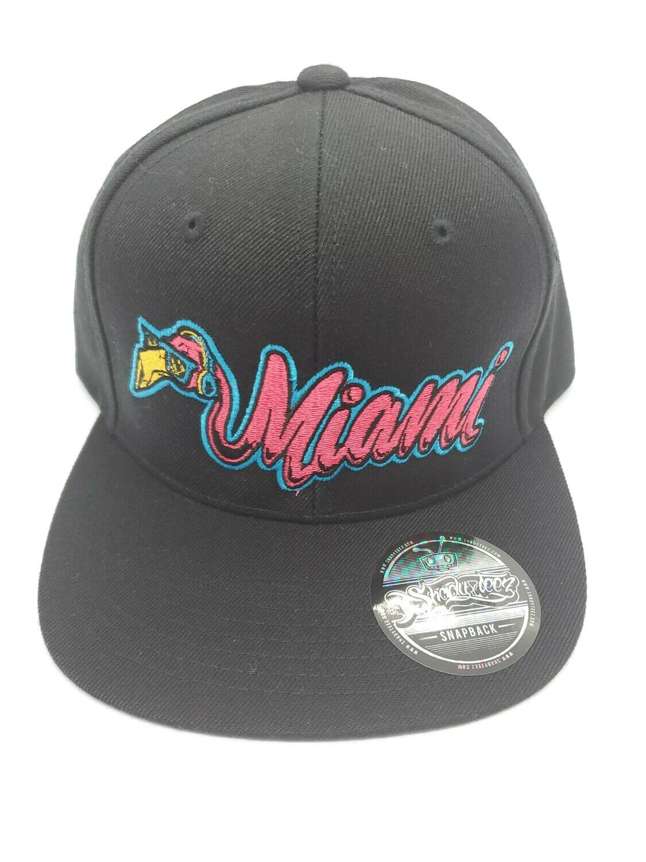 Miami Flamingo Snapback