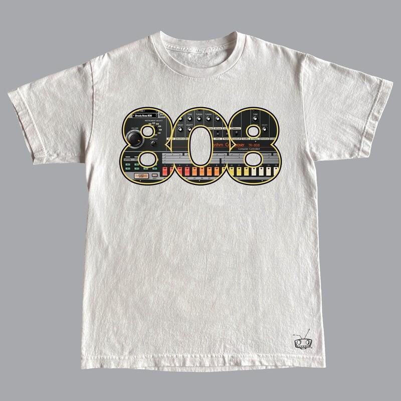 808 WHITE TEE
