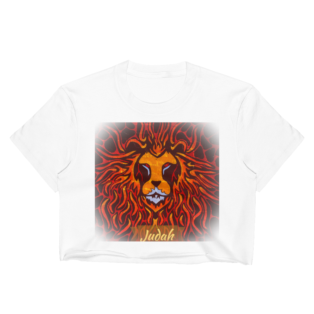 Fire Lion Women's Crop Top