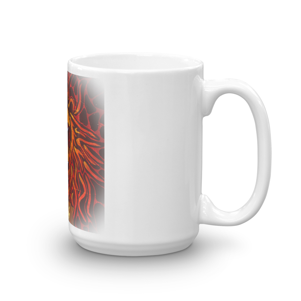 Tribe Brand Fire Lion Mug