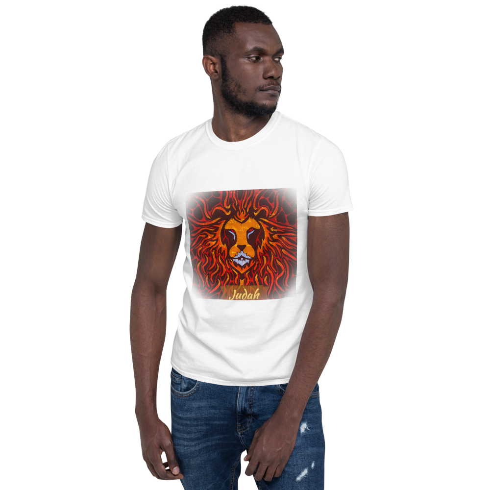 Fire Lion Short-Sleeve Unisex T-Shirt