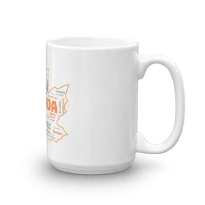Tribe Brand Canadian Hebrew Mug