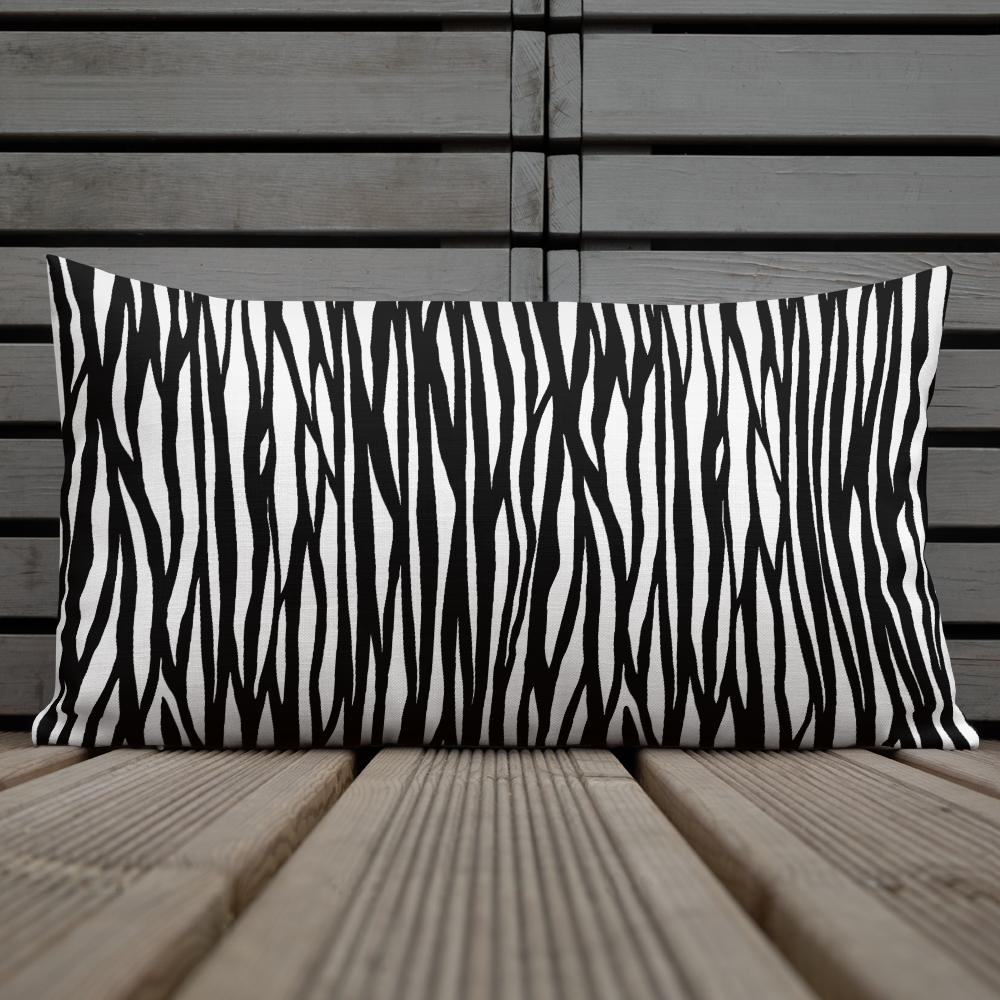 Tribe Brand Zebra Premium Pillow