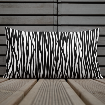 Tribe Brand Zebra Premium Pillow