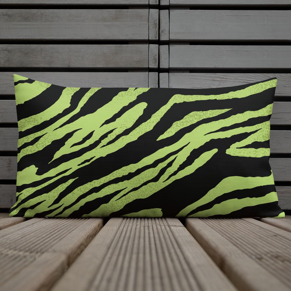 Green Tiger Premium Pillow
