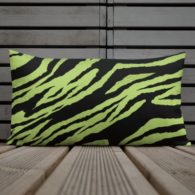 Green Tiger Premium Pillow